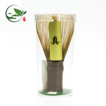Shin Matcha Powder Whisk Chasen Feito de 100 anos Bambu Roxo