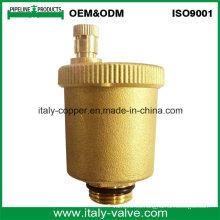 Válvula de ventilación de aire del radiador de latón Quanlity alta (IC-3001)