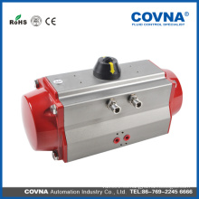 Actuador de válvula giratoria neumática de aluminio