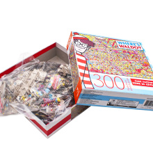 OEM jigsaw puzzle kid toys 300 piece game