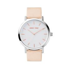 elegance brand strap genuine leather custom bezel watch