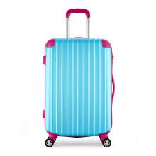 O trole material durável do ABS ensaca a bagagem extravagante do trole do curso da forma