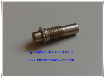 Special double head bolts,special hollow bolts with tab whashers
