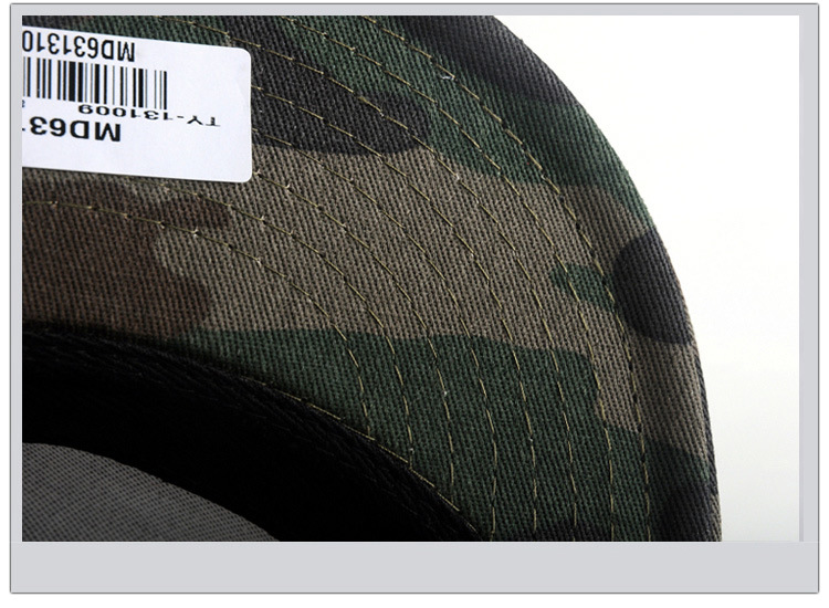 Camouflage hip-hop hat baseball hat man (11)