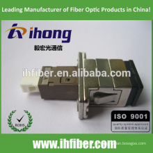 Adaptador de fibra óptica SC-MU de fábrica