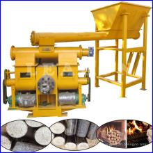 Machine à briquetage à scie à bois à combustible solide à biomasse à piston