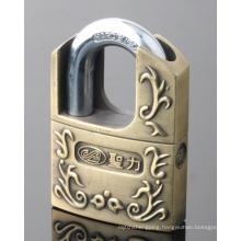 Zinc Alloy Shackle Protected Padlock (ZAP)