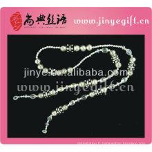 Mode Lunettes de vue Accessoires Cristal Perles Charmes Verres Cordon