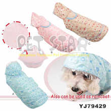 Water-Proof Fabric Dog Coat with Dots Print, Color Assorted