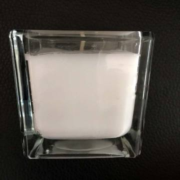 Soy Wax Square Glass Jar Oil Scent Candles