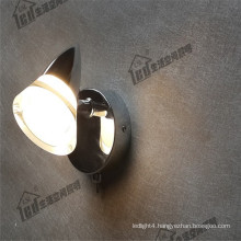 classical switch smooth acylic surface home motor dimmable led wall light mounted surface