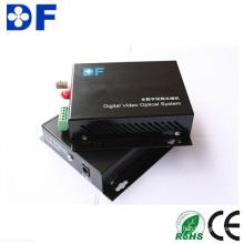Transceptor de fibra óptica de video de 1/2/4/8/16 canales de bajo costo