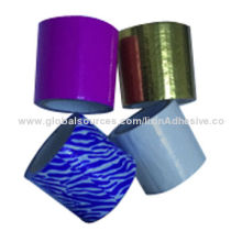 Printed cloth duct tape/duct cloth tape