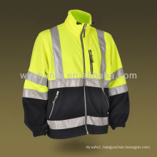Reflective Polar Fleece Jacket