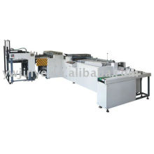Card slitting and collating machine