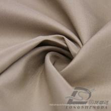 Resistente al agua y al aire libre ropa deportiva al aire libre Chaqueta tejida Pongee piel de melocotón rayado Jacquard 100% tela de poliéster (63025)