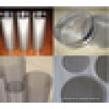 Melhor preço 304 malha de arame de aço inoxidável de 20 a 500 micron