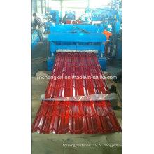 Tipo popular da telha de India que forma a máquina