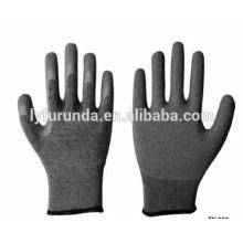 13 gauge Polyesterhandschuhe mit PU beschichteten Fingern antistatische Arbeitshandschuhe