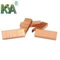 (3522) Cobre Carton Fechar grampos para embalagem