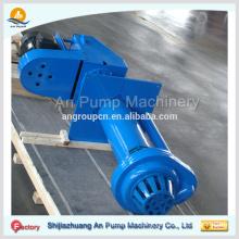 Centrifugal vertical submerged slurry pump