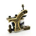 Bobina tatuaje máquina CNC bronce hechos a mano