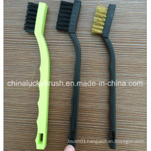 7inch Nylon Bristle Mini Cleaning Brush (YY-585)