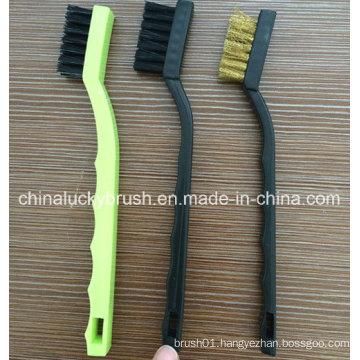7inch Nylon Bristle Mini Cleaning Brush (YY-585)