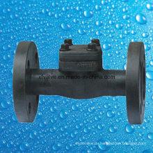 API602 Geschmiedetes Stahlflansch-Endkolben-Rückschlagventil
