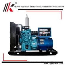 Gerador de 20000 watts de partida elétrica trifásica direto da fábrica Gerador de 25wva de combustível diesel direta da fábrica-preço na arábia saudita