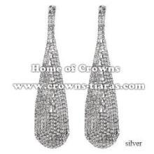 Rhinestone Fashion Pendant Earrings