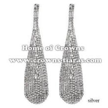 Rhinestone Fashion Pendant Earrings