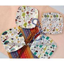 KC-00366/12 ceramic pizza plate/square plate set