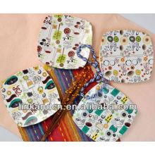 KC-00366/12 ceramic pizza plate/square plate set