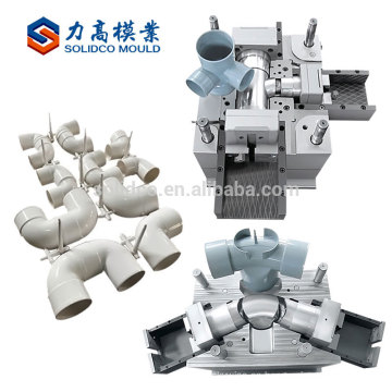 Nuevos Productos Fabricación de Plásticos El Proceso de Moldeo por Inyección Pvc Pipe Fitting Mould Manfacture
