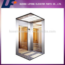 320-800kg Machine Room Less traction machine passenger lift, complete passenger elevator