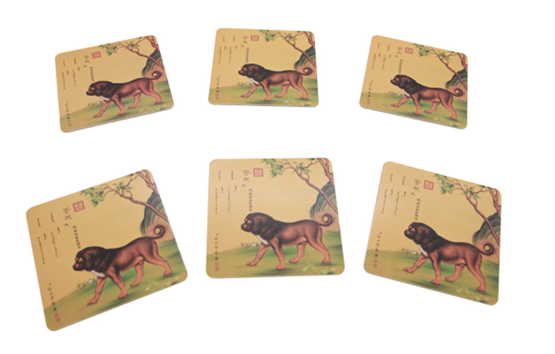 Paperboard Coaster Set of 6