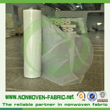 Polypropylene Nonwoven Cloth in All Colour in Rolls Packing