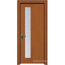 Porta de vidro interior para quarto (WX-PW-156)