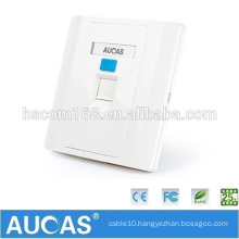 Low Price Wholesale 1 2 4 Ports White Wall Plate 86*86 Modular Face Plates