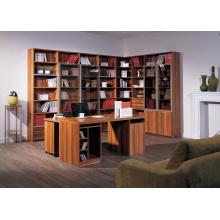 Kundenspezifisches Bücherregal mit Computer Schreibtisch Made in China