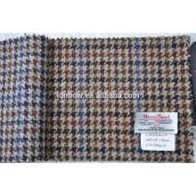Tejido de tweed pesado hecho a medida hecho por material natural