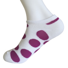 Half Cushion Poly Fashion No Show Big Circle Socks (JMPN05)