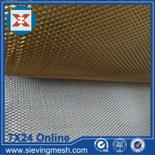 Brass Expanded Metal Mesh
