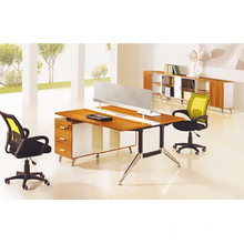 Melamin 2 Person Büro Workstation Partition