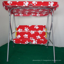 Outdoor double seat swing chair for children,Garden patio swing chair XY-174