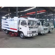 4X2 conduire Dongfeng camion balayeuse pour 3-12 mètres cubes