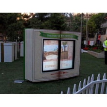 LCD-Kiosk 55inch doppelte Seiten im Freien