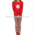 2017 Großhandel Baby Kleidung Set Mädchen Pyjamas Weihnachten Familie Pyjamas