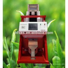 Equipo de fabricación de té Máquina de clasificación de color Molinillo de té negro
